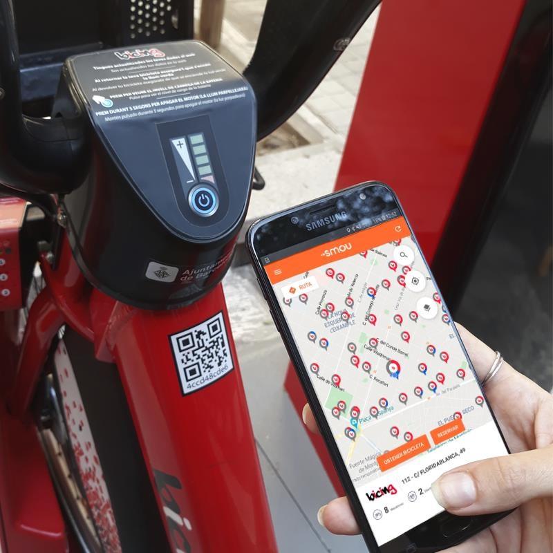 El Bicing de Barcelona és un dels serveis integrats a l'app Smou / Europa Press