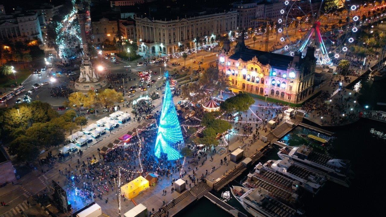 Primera edició de la fira de Nadal del Port Vell / Port de Barcelona