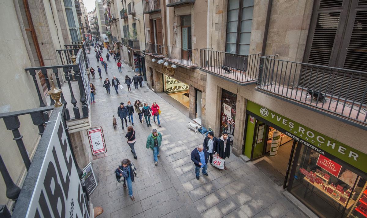 El carrer de la Portaferrissa / Tot Barcelona