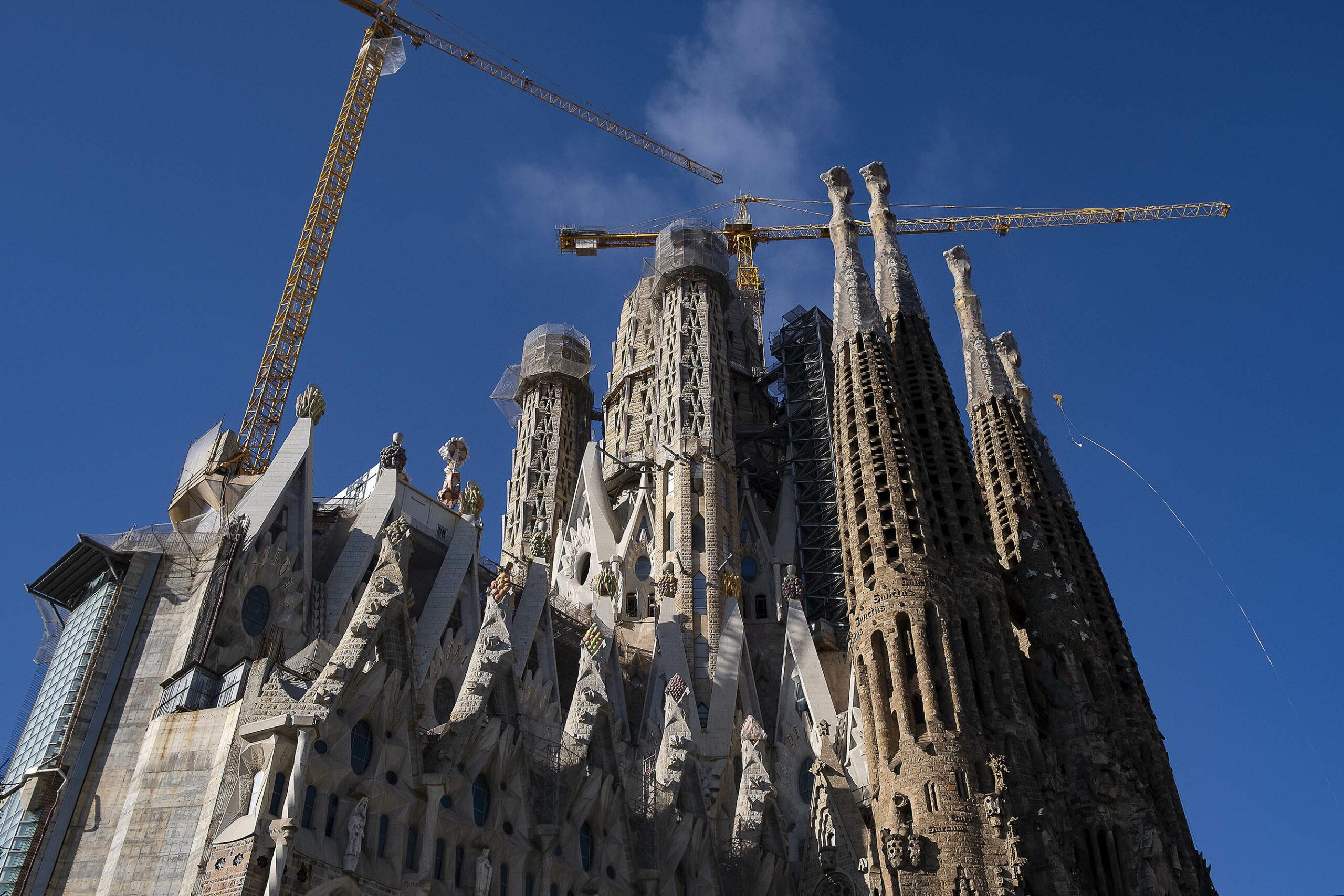 Imatge d'arxiu de la Sagrada Família / Jordi Play
