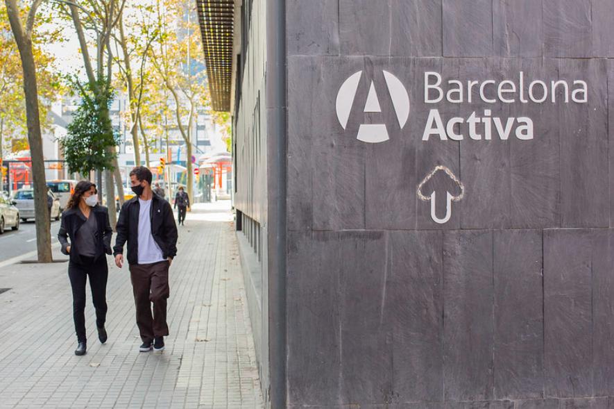 Una seu de Barcelona Activa, en imatge d'arxiu / Ajuntament de Barcelona