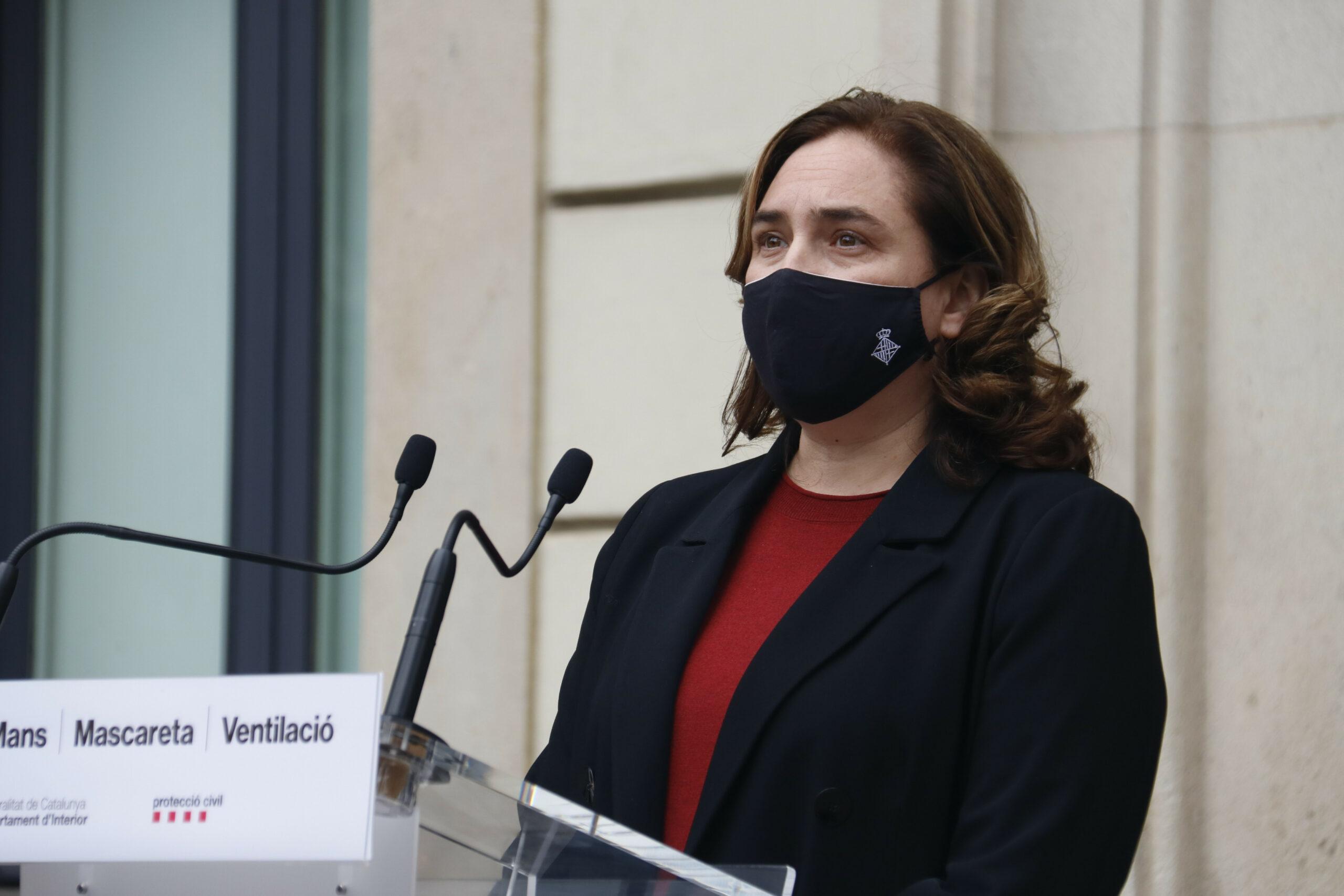 L'alcaldessa de Barcelona, Ada Colau, en una compareixença recent / ACN