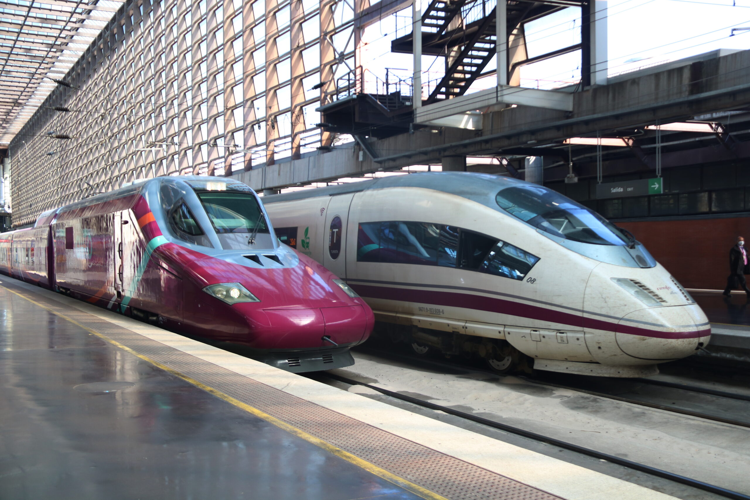 Un tren Avlo i un AVE / ACN