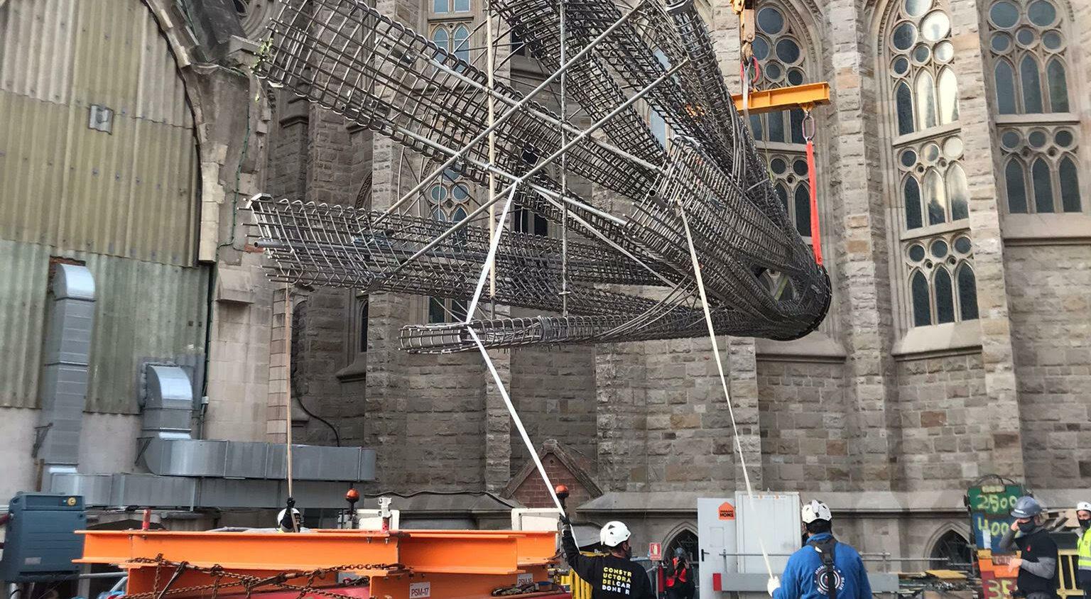 El temple de la Sagrada Família després de sis mesos d'aturada per la pandèmia / Sagrada Família