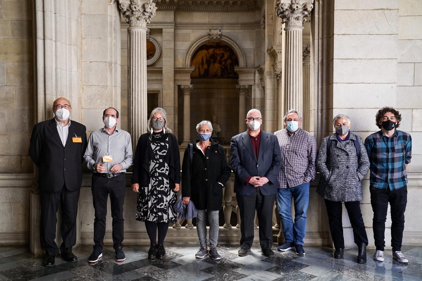 Els 8 aspirants a la Sindicatura de Greuges de Barcelona / Ajuntament de Barcelona