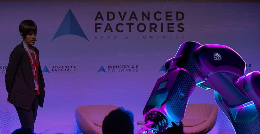 Imatge d'arxiu d'una presentació d'Advanced Factories / Advanced Factories