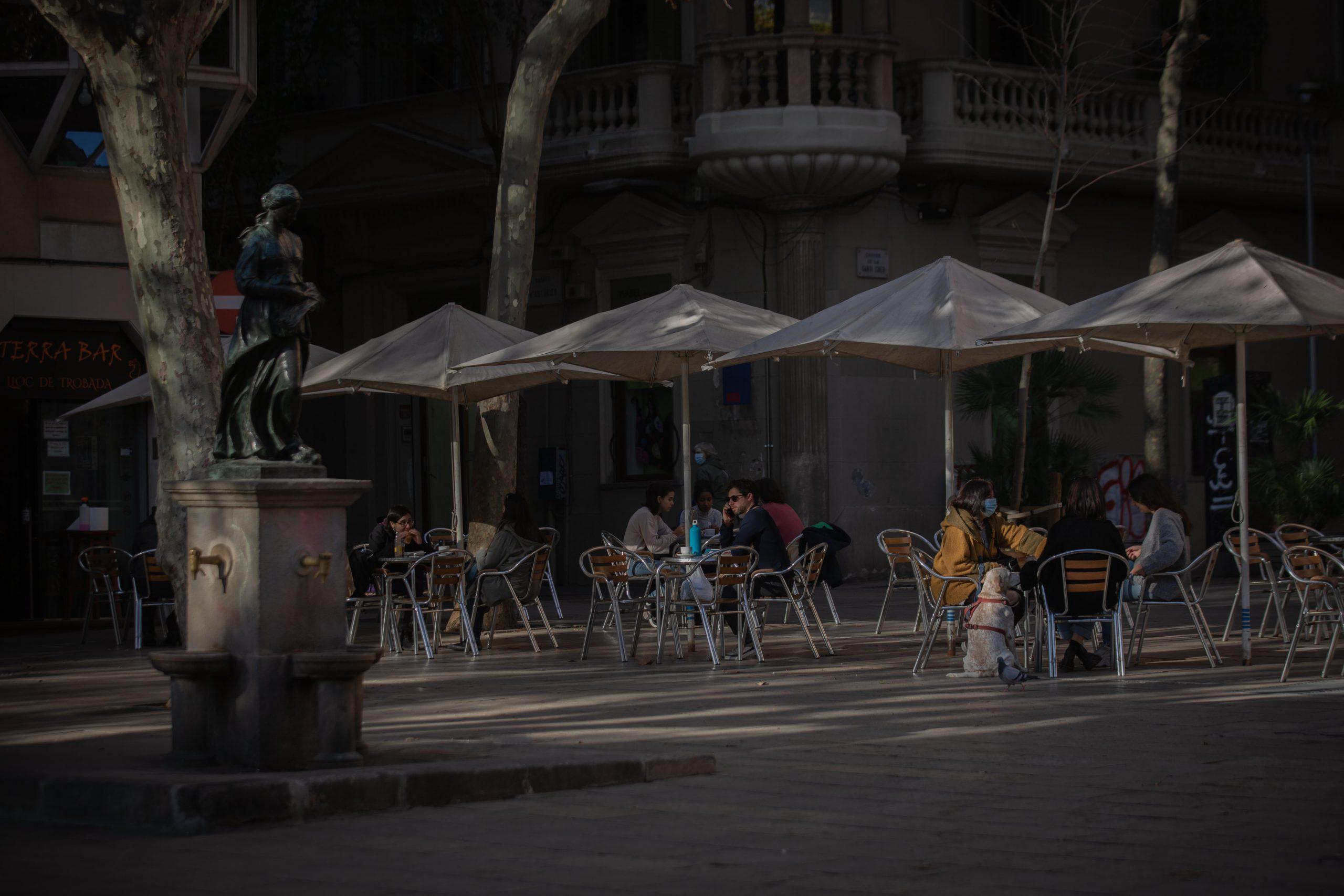 Terrassa a Barcelona, en una imatge d'arxiu / Europa Press