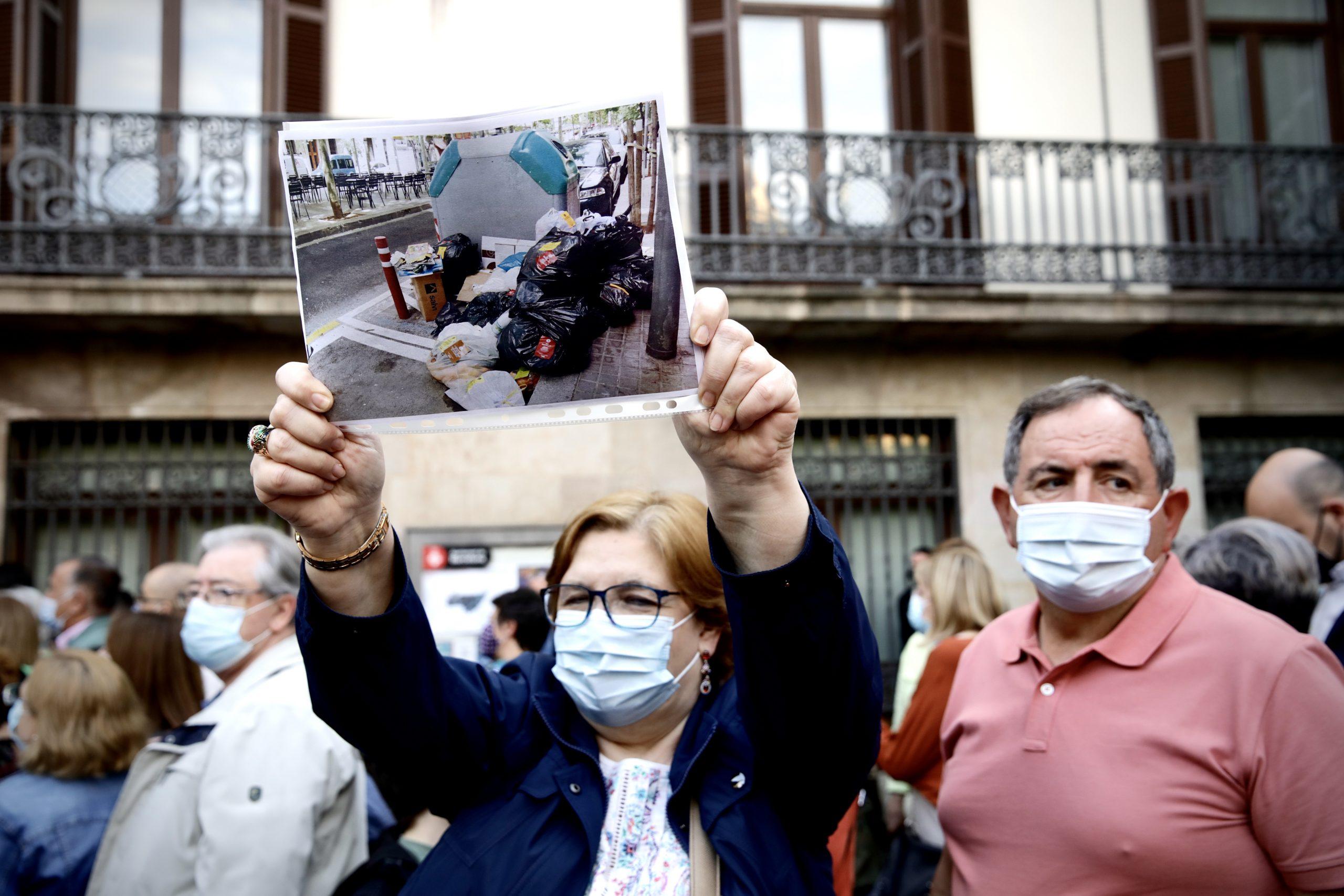 Protesta contra el porta a porta, en imatge d'arxiu / Jordi Play