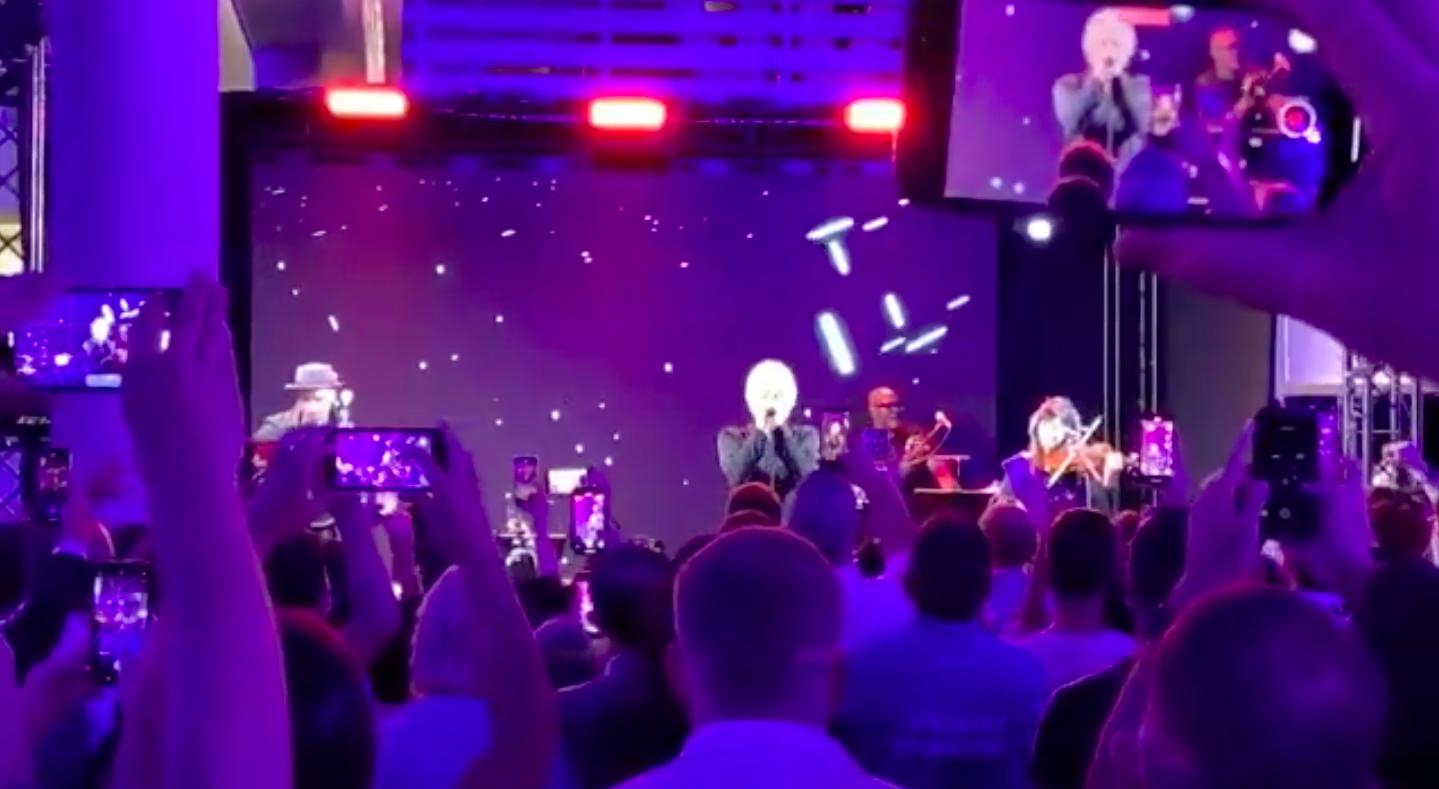 Concert de Bon Jovi al MWC / Òscar Julià