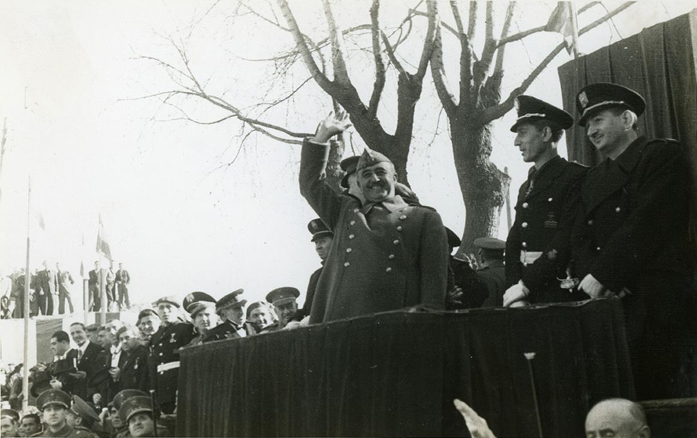 Visita del dictador a Barcelona WIKIMEDIA COMMONS