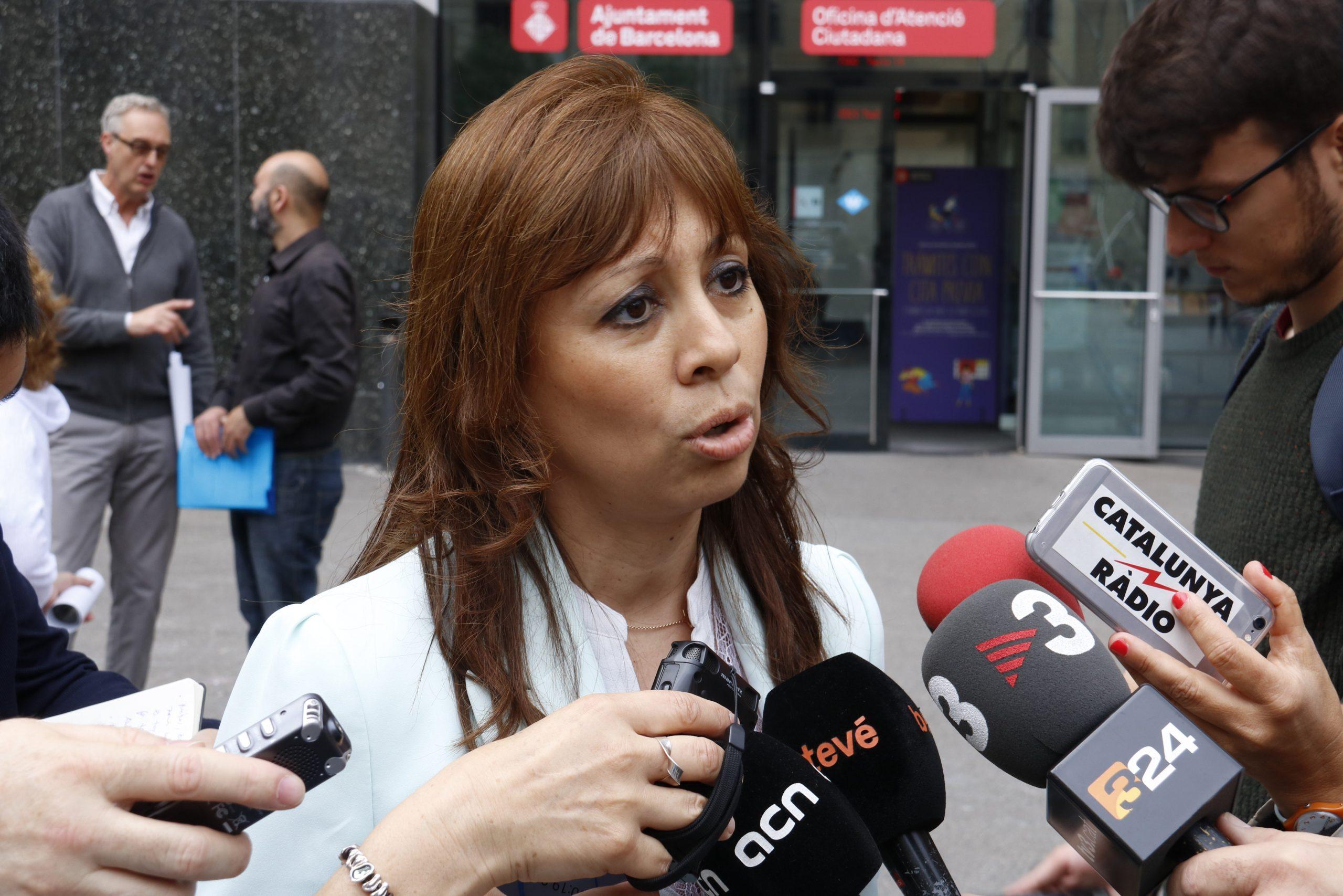 La fins ara portaveu de Cs a l'Ajuntament de Barcelona, Marilén Barceló / ACN