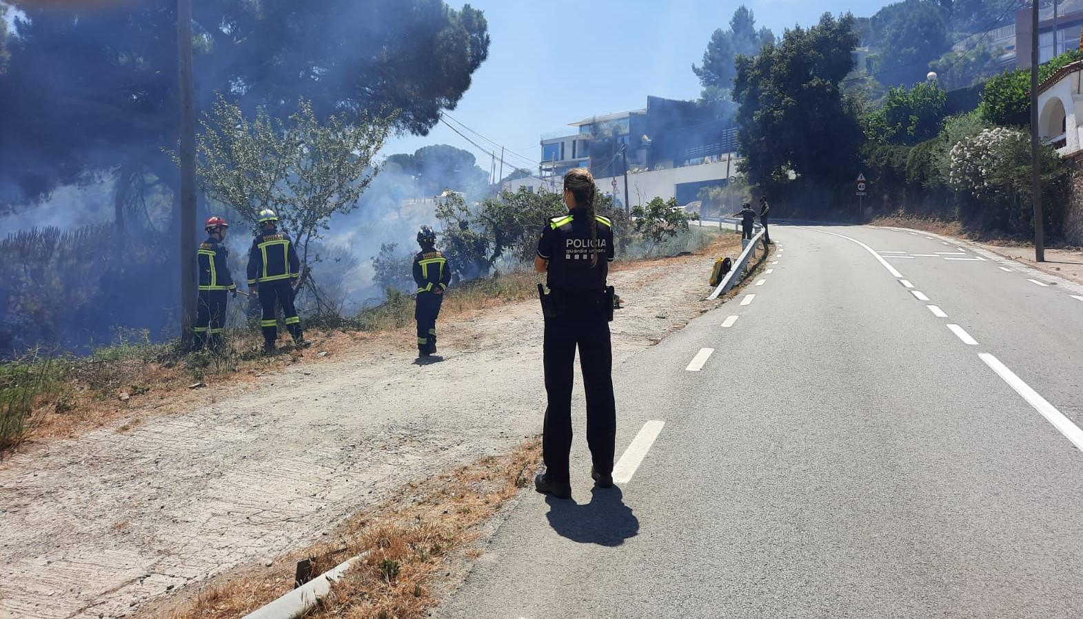Els Bombers han pogut extingir el foc / GUB