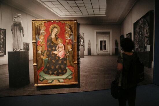 L'exposició 'El museu en perill!', del MNAC / Pau Cortina / ACN