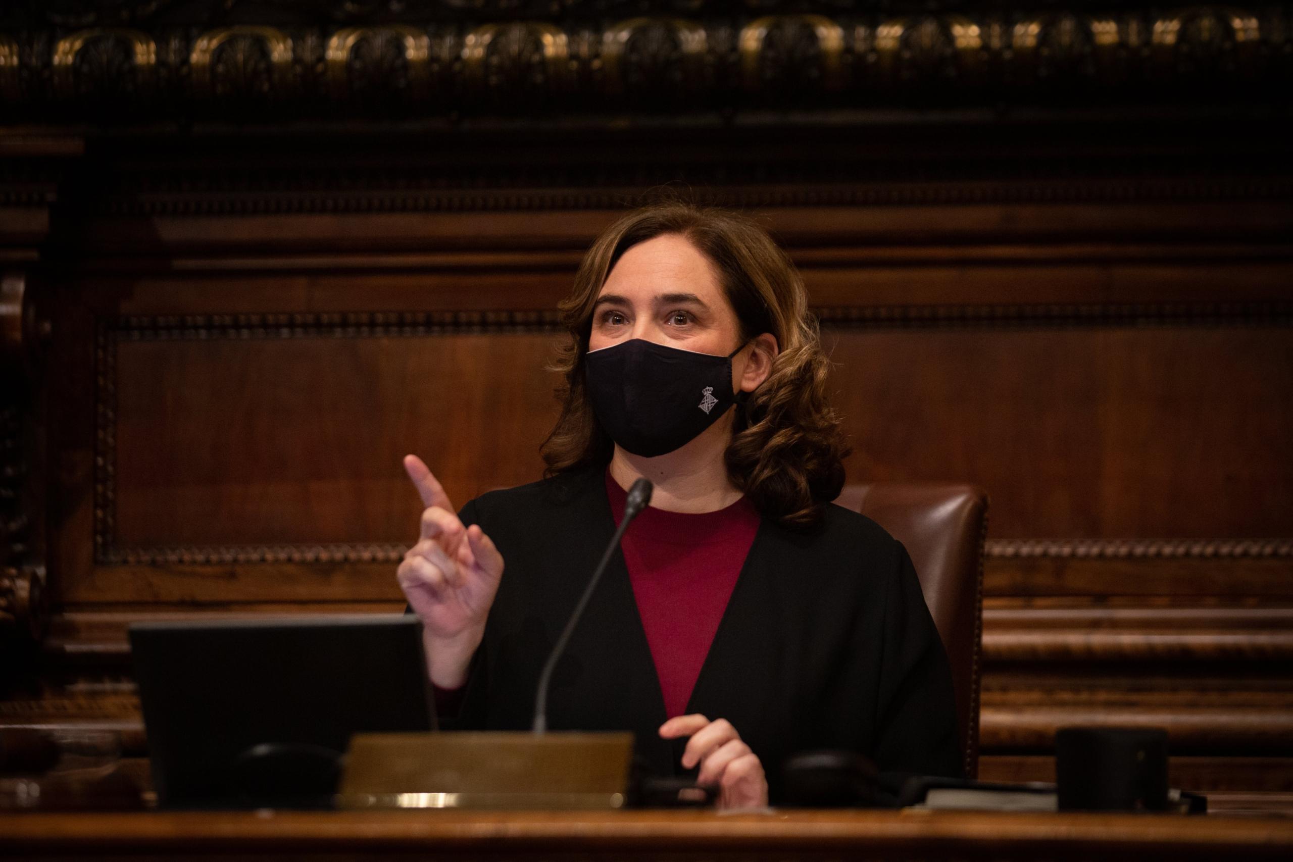L'alcaldessa Ada Colau en imatge d'arxiu / David Zorrakino (Europa Press)
