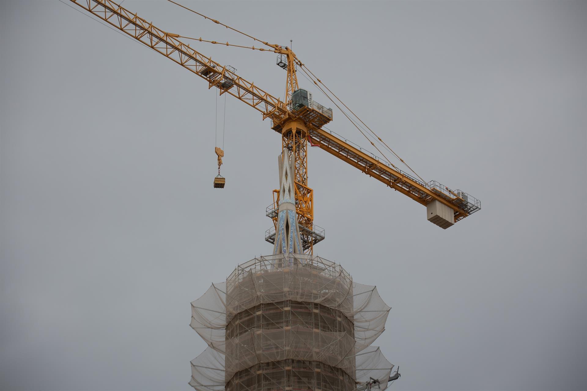 Les obres de la Sagrada Família entren a la seva recta final / Europa Press