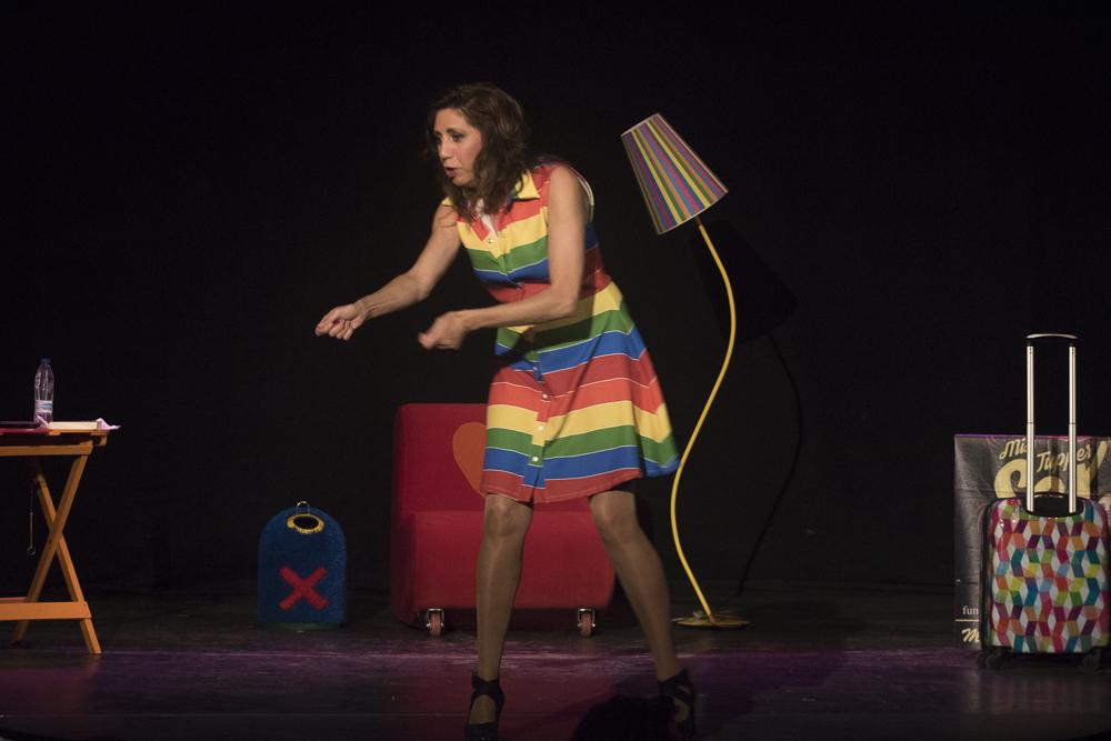 Pilar Ordóñez torna a la ciutat de Barcelona amb el seu escandalós i atrevit monòleg sexual.
